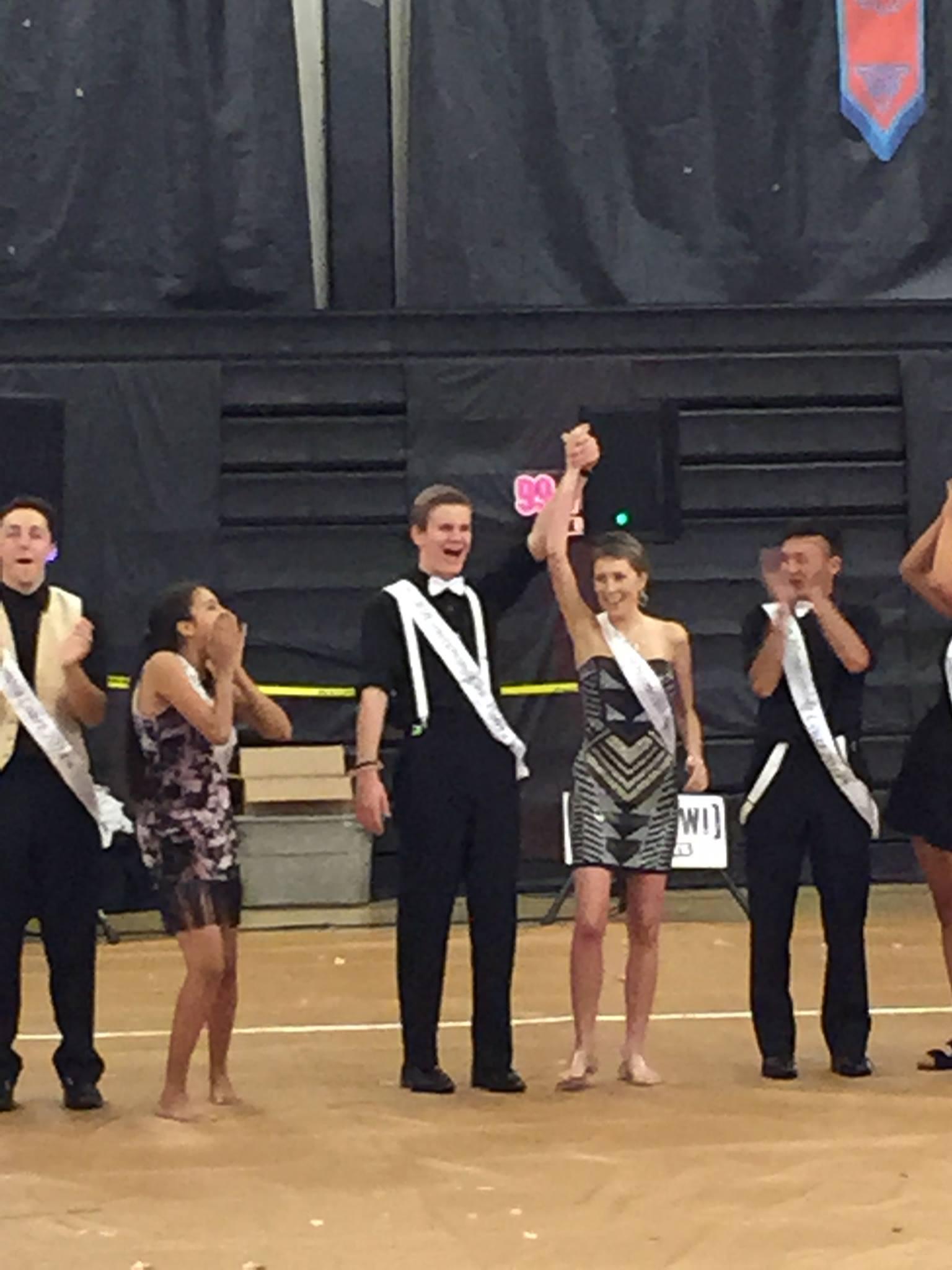 Tessa wins Homecoming Queen