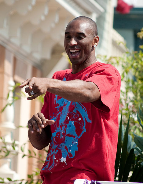 Kobe Bryant at a Disney Parade (from wikipedia)