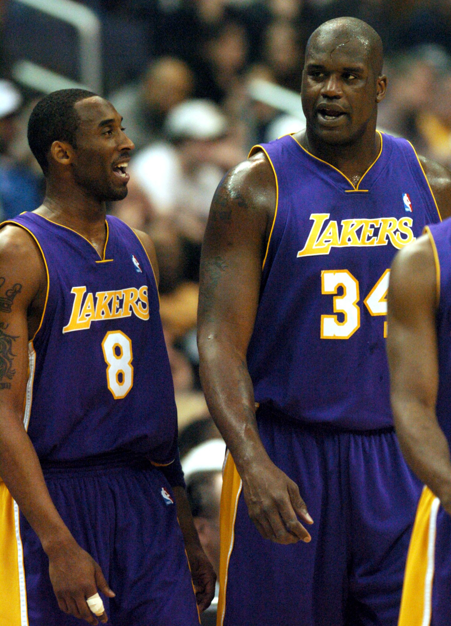 A tearful Shaquille O'Neal on Kobe Bryant's death: 'I've lost a little brother'